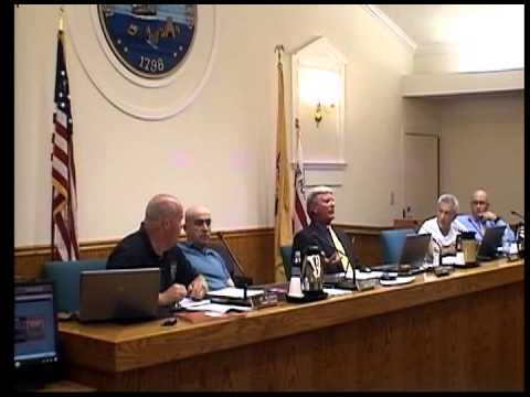 Upper Township Committee Meeting 9-23-13