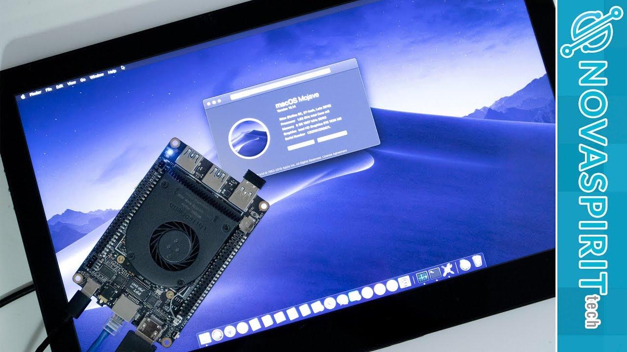 LattePanda Alpha Hackintosh: you can install macOS on this tiny PC