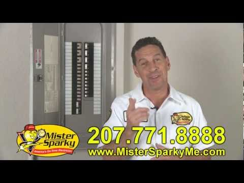 Mister Sparky -  Common Electrical Problems - Portland Maine - Electrician
