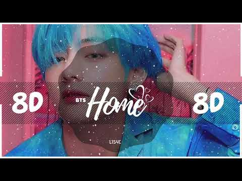 💜 [8D AUDIO] BTS - HOME | BASS BOOSTED | [USE HEADPHONES 🎧]  방탄소년단 | PERSONA
