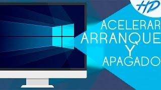 Cómo acelerar el arranque y apagado de la PC en Windows 10 | NUEVOS MÉTODOS 2016 | SIN PROGRAMAS