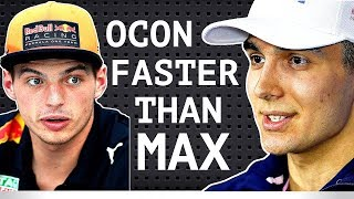 "Ocon ""I'm Faster Than Verstappen"" - Kvyat Signs Deal with Ferrari - Kubica Williams Test Driver?"