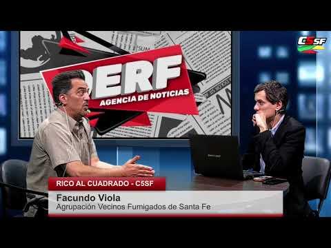 Facundo Viola: Las fumigaciones nos siguen enfermando
