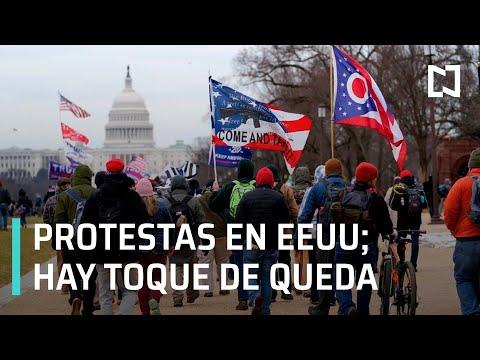 Cobertura especial: Protestas violentas en EEUU; Hay toque de queda