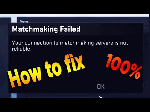 Matchmaking failed to connect to match