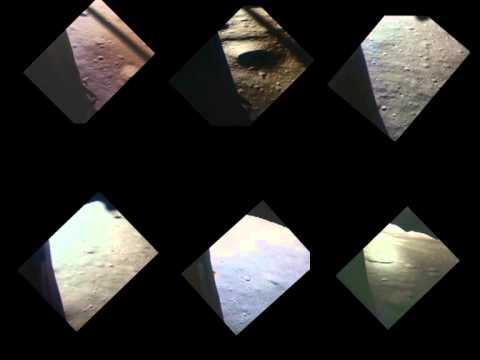 Un video recoge los seis alunizajes de las misiones Apolo