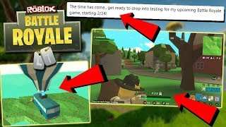 ROBLOX FORTNITE BATTLE ROYALE RELEASE INFO! *All You Need To Know* - Roblox Fortnite