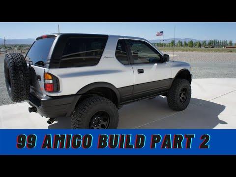 1999 Isuzu Amigo Build part 2  Dale Walker
