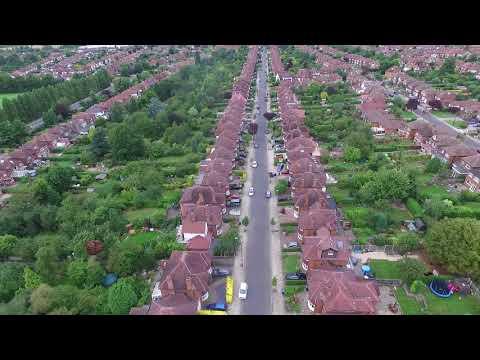 DJI PHANTOM 3 ADVANCE, BOUNDARY PARK WEST BRIDGFORD, NOTTINGHAM
