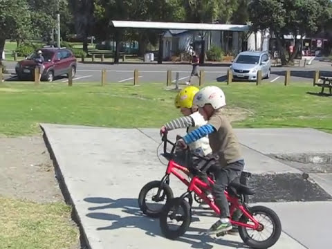 The four-year-old BMX stars who will put your skills to shame