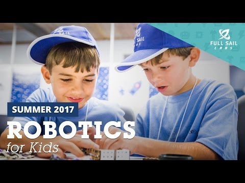 Robotics for Kids (2017 Summer Camps)