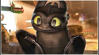 HOW TO TRAIN YOUR DRAGON 3 - HIDDEN WORLD (NEW 2019) | Toothless Funny Features HD