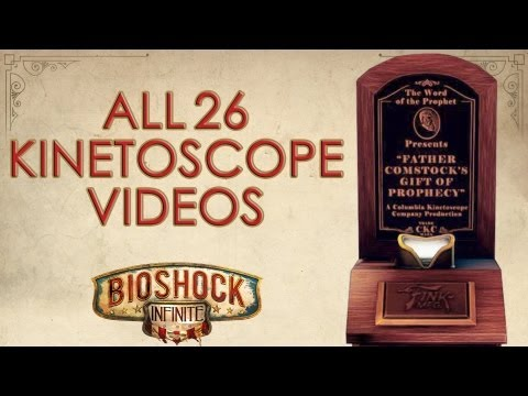 BioShock Infinite: All 26 kinetoscope videos