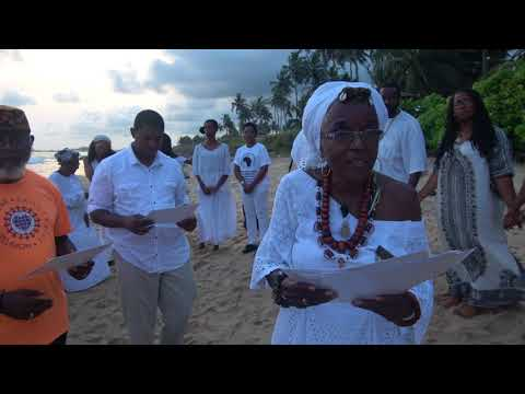 Ghana Tour Nov 2017 Naming Ceremony on One Africa Beach Resort