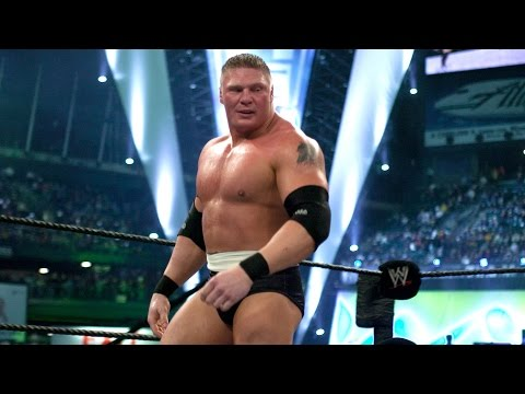 Brock Lesnar's first WrestleMania entrance: WrestleMania 19