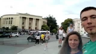 Как уральские туристы встретили митинги в Грузии