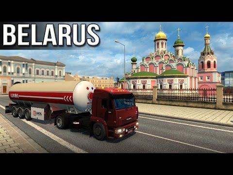 ETS2 - Belarus (Bryansk to Mazyr)
