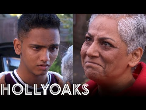 Hollyoaks: Imran's Send Off