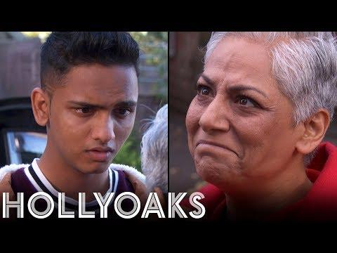 Hollyoaks: Imran's Send Off