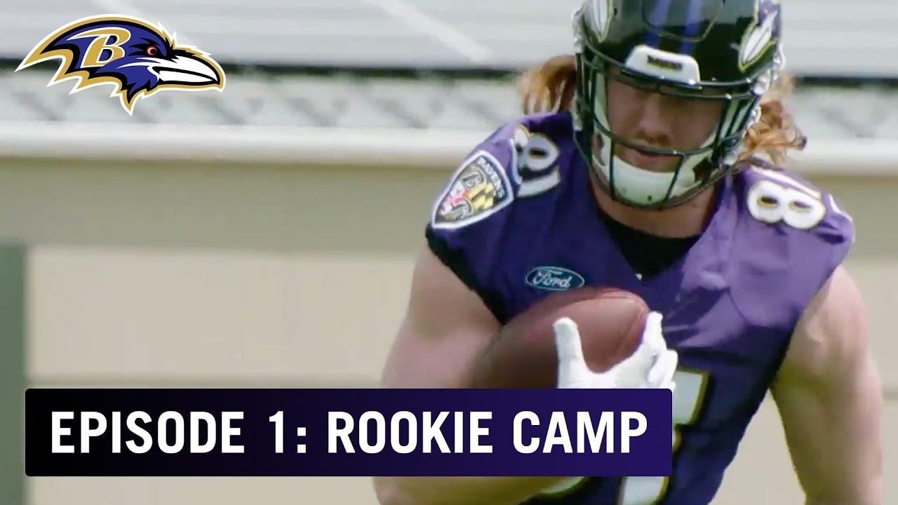1bacea9ee  The Rookies Arrive for Day 1 of Camp w  Head Coach John Harbaugh  Ep. 1