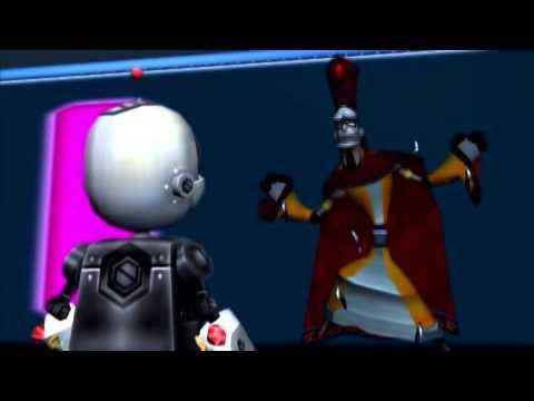 Vidéo Ratchet et Clank — Rôle de Double Zéro (avec Martial Leminoux, Clank)