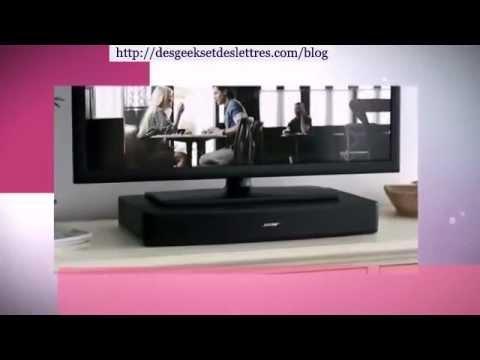 test des home cinema de marque bose youtube. Black Bedroom Furniture Sets. Home Design Ideas