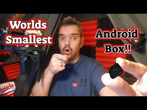 The Worlds' Smallest Android Box!!! GIVEAWAY!! Pendoo X8 Mini - 동영상