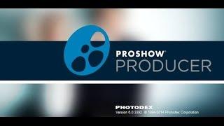 ProShow Producer - Добавление и редактирование музыки в слайд шоу