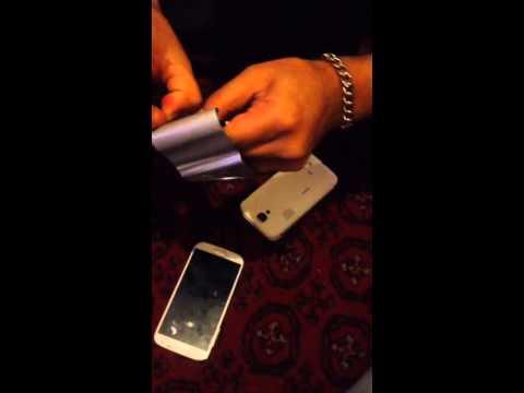 Hidden chip in Smart phones battery