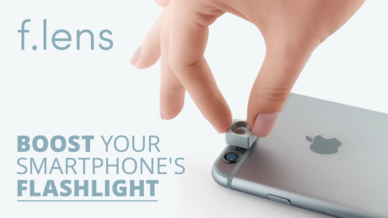 ad9c942b4f7 Flens - The first flashlight booster for smartphones - YouTube
