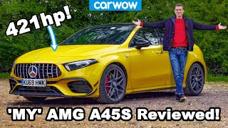 See what my girlfriend and I think of my new daily driver... The AMG A45 S!