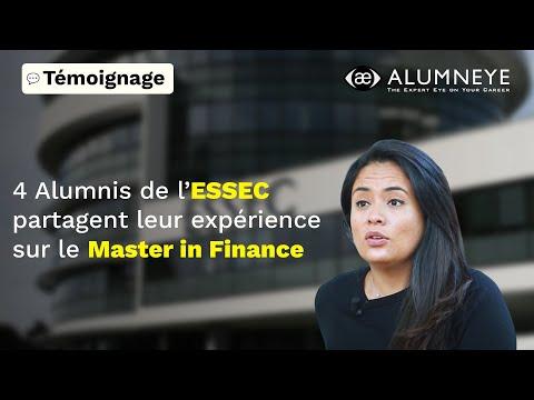 ESSEC Master in Finance : interview 4 Alumni
