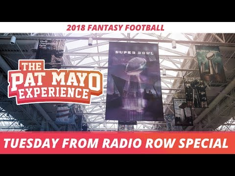 2018 Fantasy Football - Tuesday on Radio Row Special with Stefon Diggs and many more!