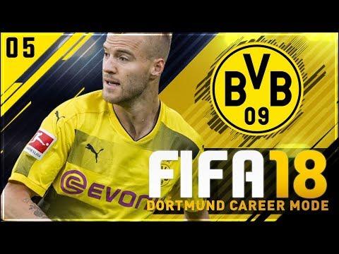 FIFA 18 Dortmund Career Mode Ep5 - DEADLINE DAY!