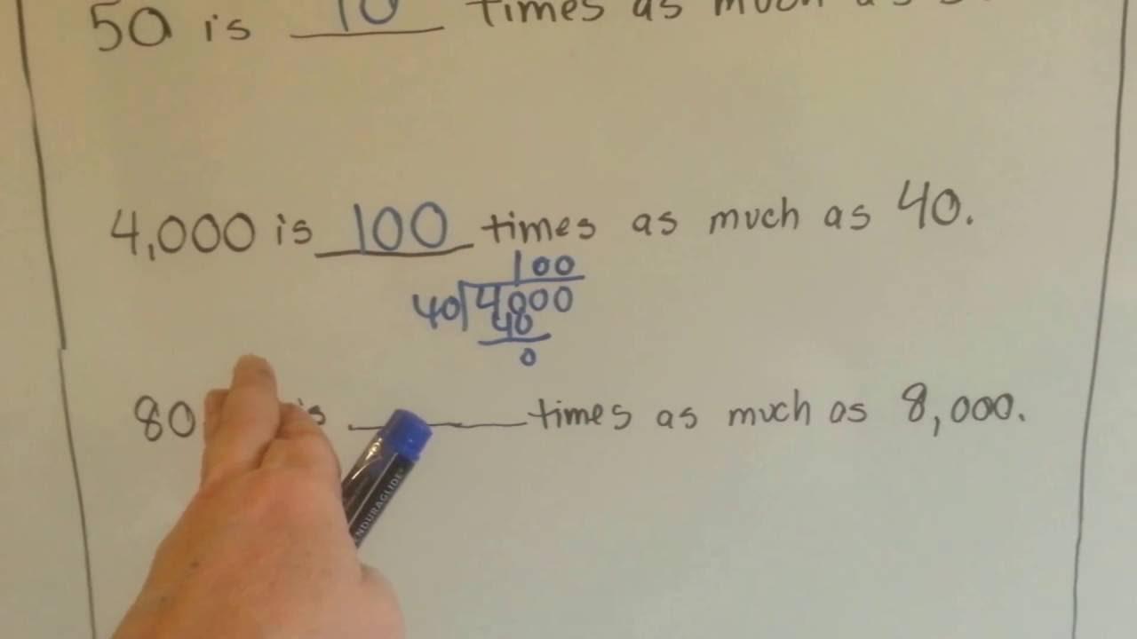 medium resolution of Grade 5 Math #1.1