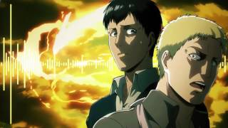 Attack on Titan Season 2 Reiner and Bertholdt Transformation OST