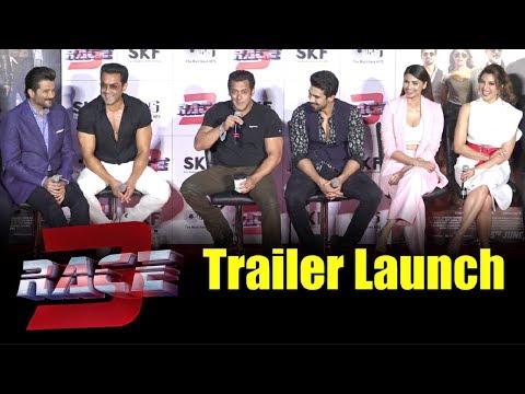 Race 3 Trailer Launch Full Event - Salman Khan, Jacqueline Fernandez, Anil Kapoor, Bobby Deol