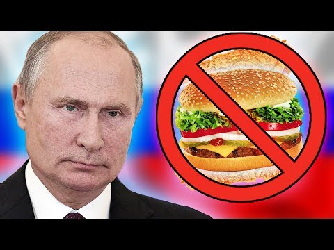 Why Western Food is BANNED in Russia