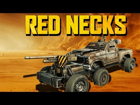 Crossout - CANNONS & RED NECKS (Crossout Beta Gameplay)