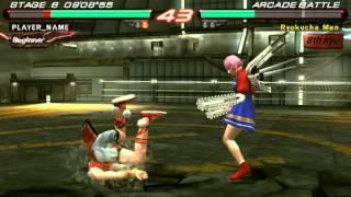 Tekken 6 - Xiaoyu Vs Alisa - User video