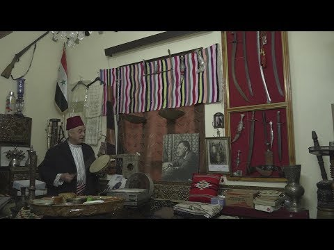 Syrian antique collector lives in glorious past with his pieces