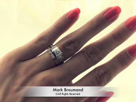 Princess Wedding Rings Sets 48 Popular Princess cut diamond engagement