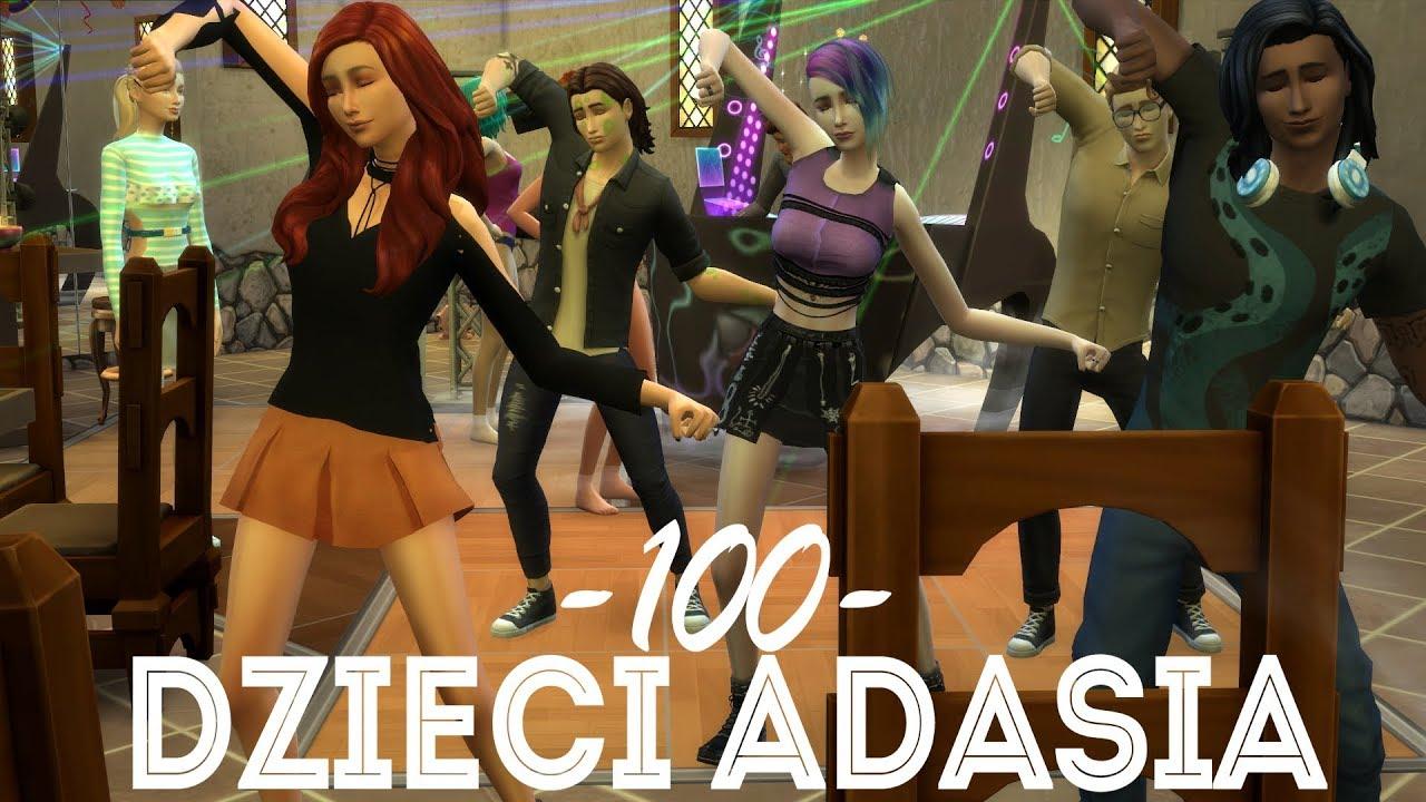 Download The Sims 4 Pl : Wyzwanie 100 dzieci Adama #128 - Impreza w Jungli