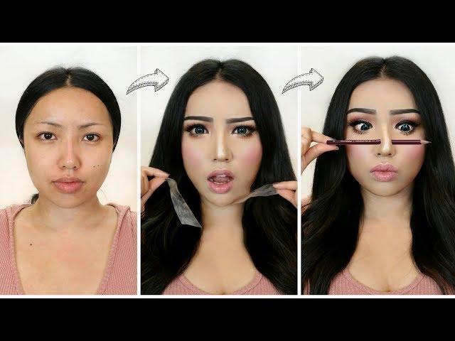 I Followed Viral Asian Makeup