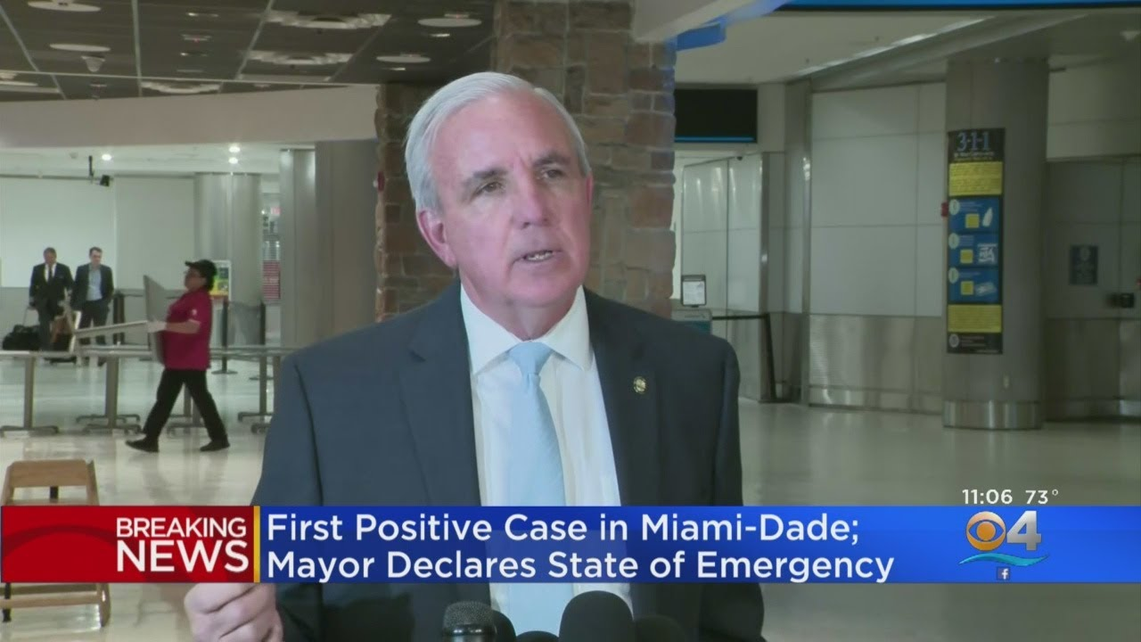Miami-Dade Mayor Declares State Of Emergency As County Has First ...