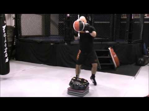 3f81e1adddb Boxing Training - Double End Bag Drill  Long Range Pepper (Bicycle) -  YouTube