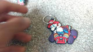 Unboxing a Nintendo  Mario Kart keychain
