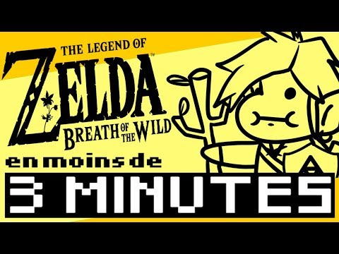 ZELDA Breath of the Wild résumé en moins de 3 MINUTES