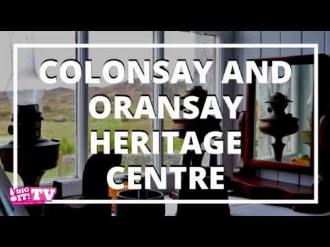 Mines And Minke Whales At Colonsay And Oransay Heritage Centre | Dig It! TV