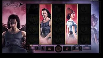 DRACULA Free Spins & Big Win (Netent online slot machine)